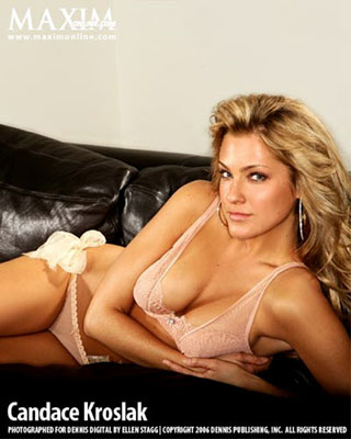Candace Kroslak Bra Size, Weight, Height and Measurements
