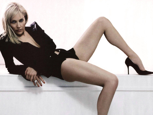 Sharon Stone Bra Size, Weight, Height and Measurements